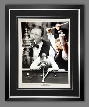 Dennis Taylor Hand Signed And Framed 12x16 Photograph