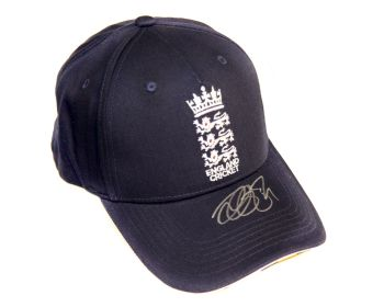Alastair Cook Signed England Cricket Hat