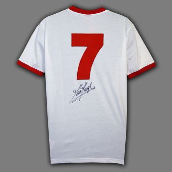 Kevin Keegan No 7 Signed Liverpool Football Shirt