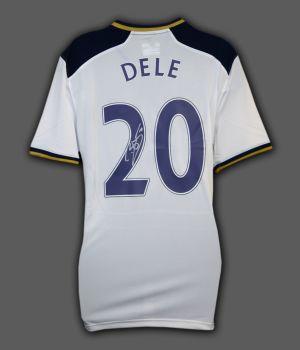 Dele Alli Tottenham Hotspur Hand Signed Football shirt.