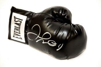 Floyd Mayweather Signed Black Boxing Glove
