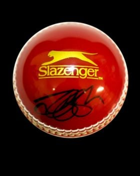 Alastair Cook Hand Signed Cricket Ball : A