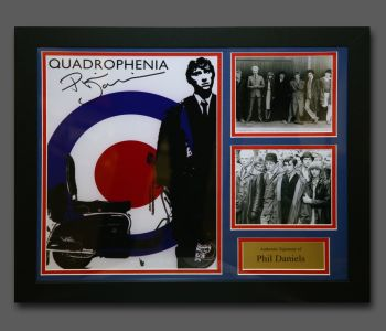 Phil Daniels Hand Signed Quadrophenia 12x16 Photograph In A Fame Presentation...