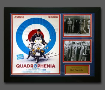 Phil Daniels Hand Signed Quadrophenia 12x16 Photograph In A Fame Presentation : A