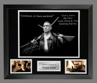 Vinnie Jones  Hand Signed Lock Stock 12x16 Photograph In A Frame Presentation : A