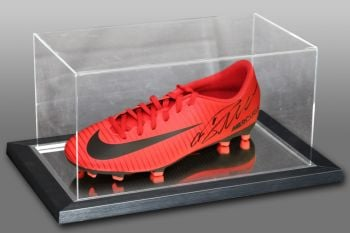 Cristiano Ronaldo Hand Signed Football Boot Presented In An Acrylic Case: A