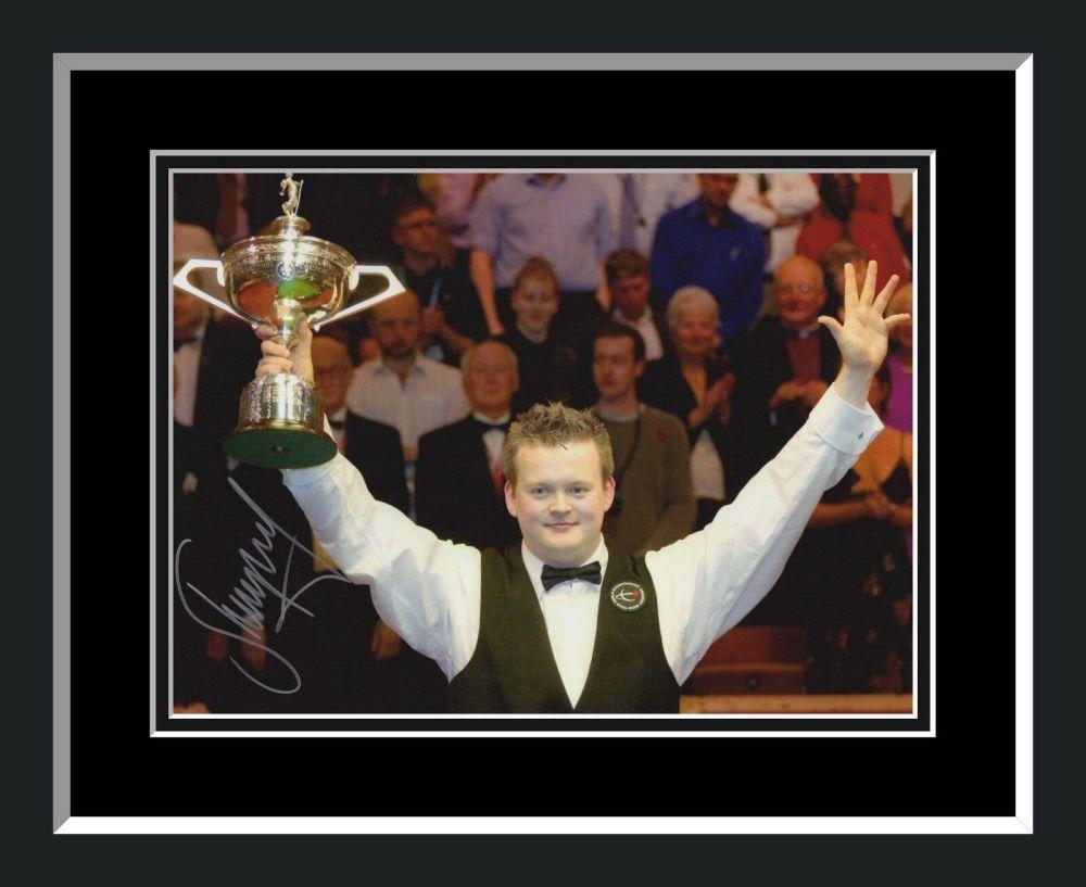 Shaun Murphy Signed And Framed Snooker Photograph B