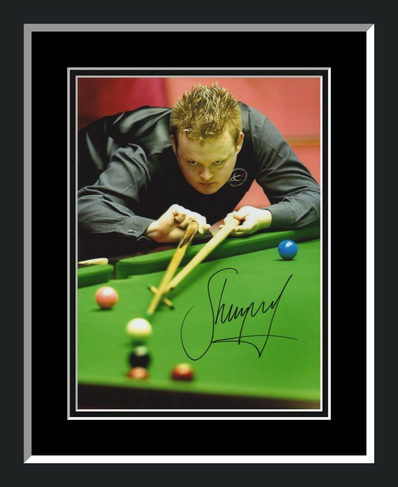 Shaun Murphy Signed And Framed Snooker Photograph  A