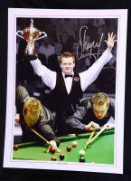 Shaun Murphy Signed Snooker Montage