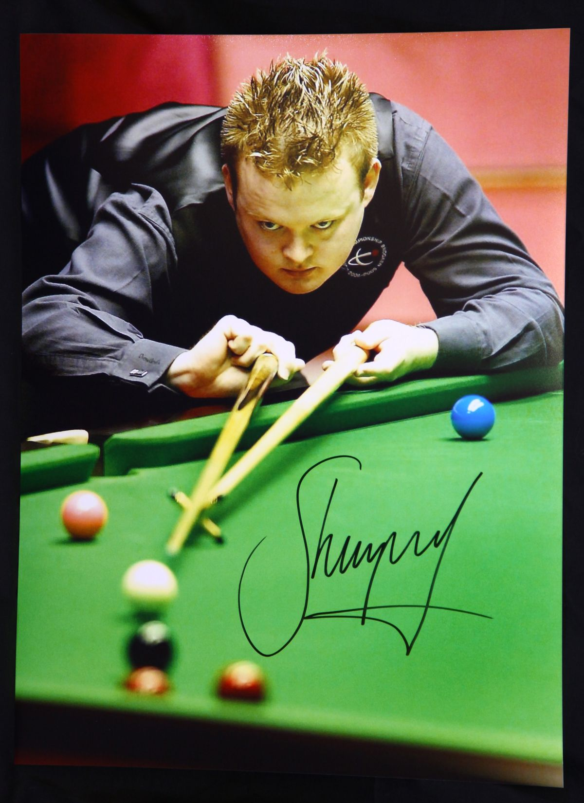 Shaun Murphy Signed  Snooker Photograph A