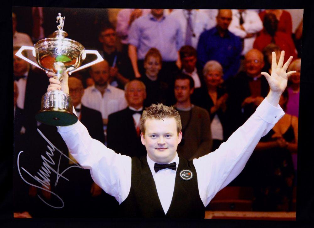Shaun Murphy Signed  Snooker Photograph B