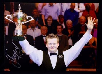 Shaun Murphy Signed  Snooker Photograph B
