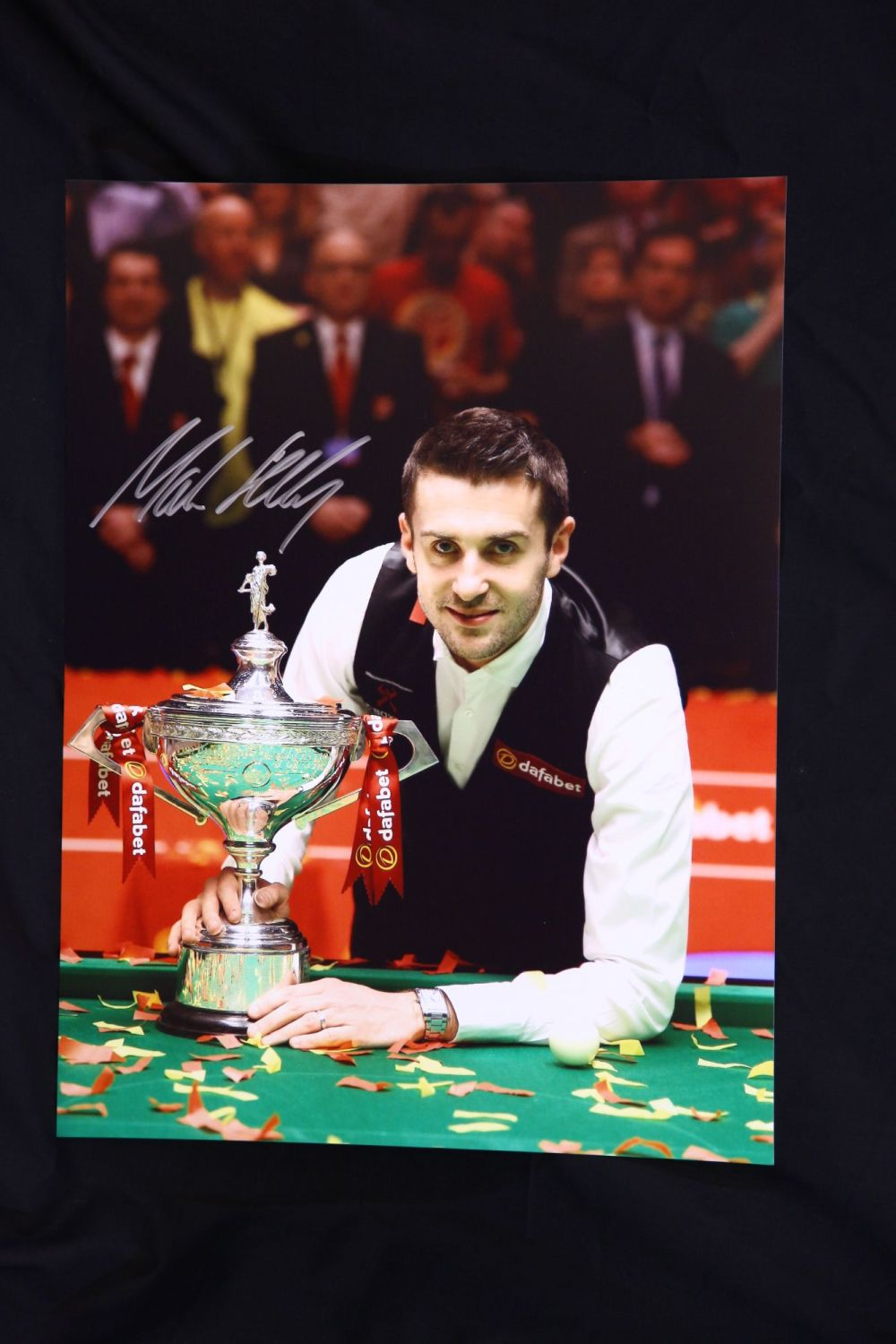Mark Selby World Champion Signed 12x16 Snooker Photo A