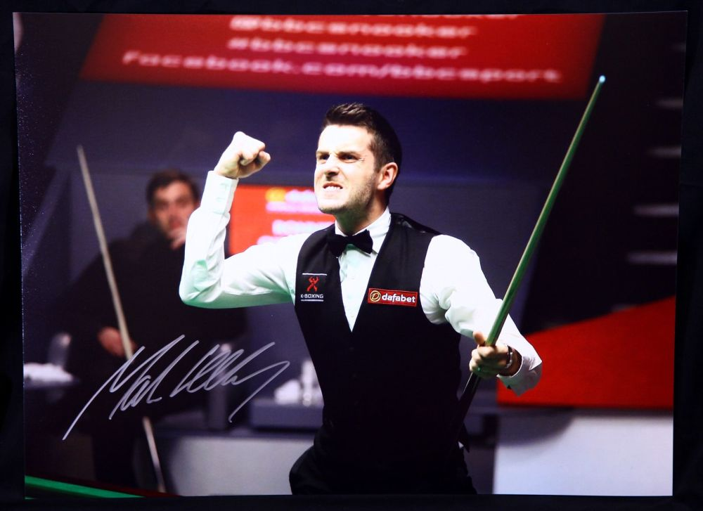 Mark Selby World Champion Signed 12x16 Snooker Photo B