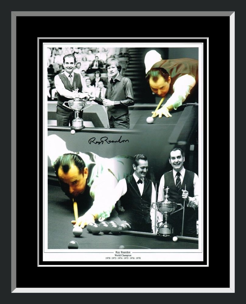 Ray Reardon Signed And Framed 12x16 Montage