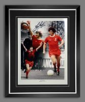 Kevin Keegan Liverpool Signed And Framed 12x16  Football Montage