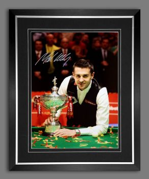 Mark Selby World Champion Signed And Framed 12x16 Snooker Photo A