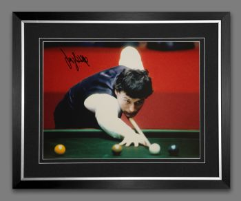 Jimmy White Signed And Framed 12x16 Photograph