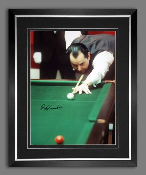 Ray Reardon Signed And Framed 12x16 Photograph : A