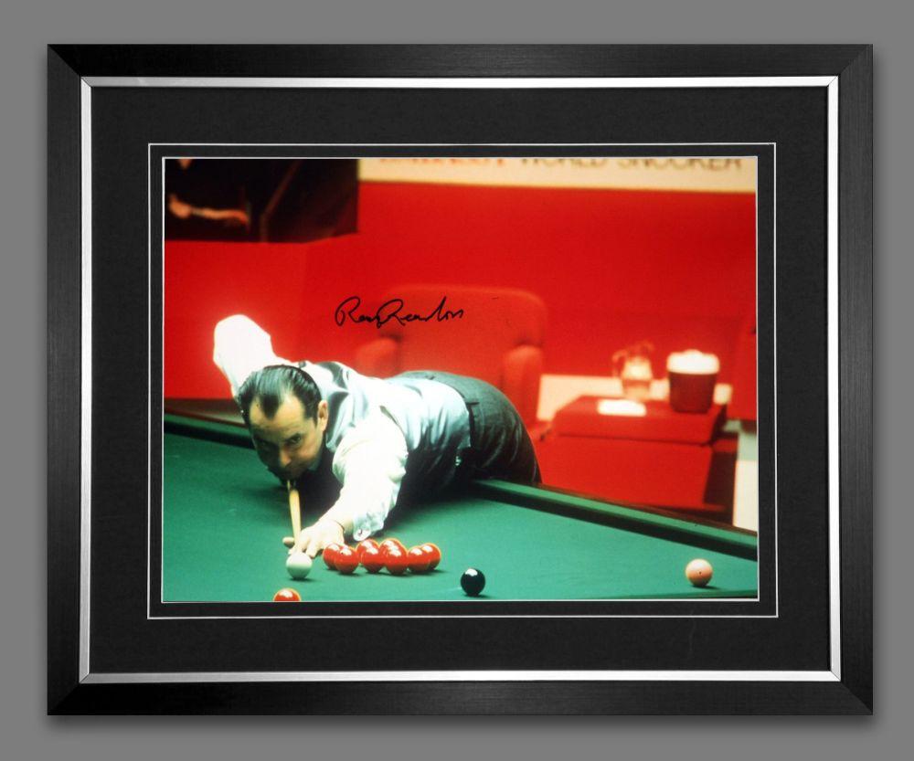 Ray Reardon Signed And Framed 12x16 Photograph : B