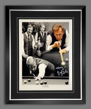 Terry Griffiths signed And Framed  12x16 photograph