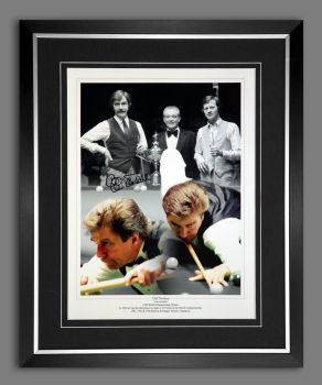 Cliff Thorburn Signed And Framed  12x16 Montage