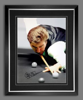 Cliff Thorburn Signed And Framed  12x16 Photograph : A