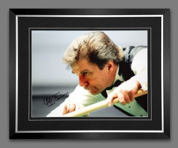 Cliff Thorburn Signed And Framed  12x16 Photograph : B
