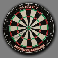 Phil Taylor Hand Signed Official Target World Champions Dartboard