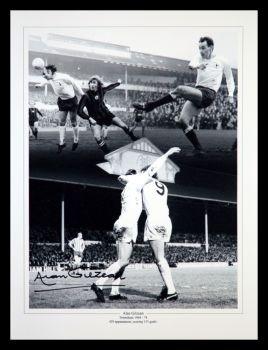 Alan Gilzean  Hand Signed  Tottenham Hotspurs 12x16 Photograph