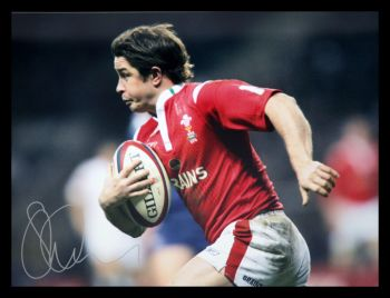 Shane Williams Rugby 12x16 Signed Photograph :  A
