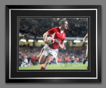 Shane Williams Rugby 12x16 Signed  And Framed Photograph :  D
