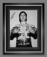 Ken Buchanan  Signed  And Framed 12x16 Boxing Photo : A