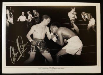 Colin Jones Boxing Signed 12x16 Photograph