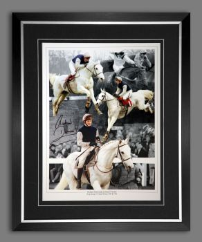 Richard Dunwoody  And Desert Orchid  Signed And Framed 12x16 Photograph