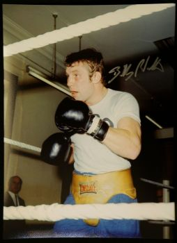 Billy Walker Boxing Signed 12x16 Photograph
