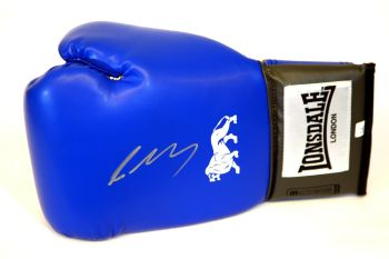 Lee Selby Hand Signed Blue Lonsdale Boxing Glove.