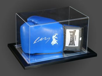 Lee Selby Signed Blue Boxing Glove Presented In An Acrylic Case