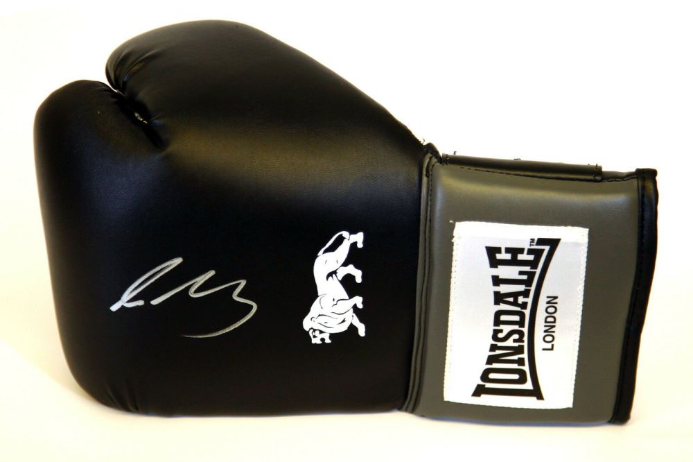 Lee Selby Hand Signed Black Lonsdale Boxing Glove.