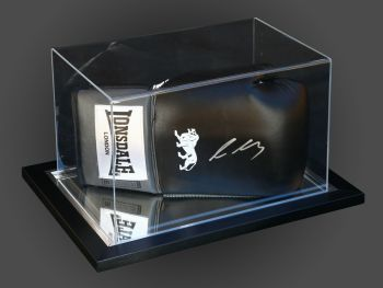 Lee Selby Signed Black Boxing Glove Presented In An Acrylic Case