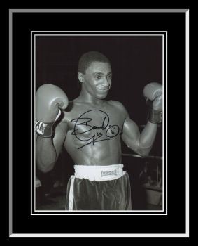 Herol Bomber Graham Signed And Framed 12x16 Boxing Photograph : D