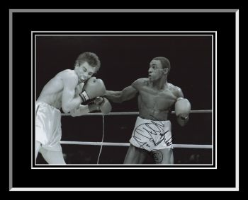 Herol Bomber Graham Signed And Framed  12x16 Boxing Photograph : C