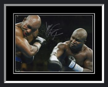 James Toney Signed And Framed Boxing 12x16 Photograph : B