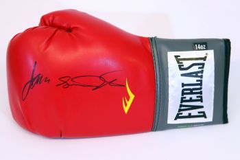 James Toney Signed Red Everlast Boxing Glove