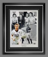 Kevin Beattie Signed And Fra,ed Ipswich Town Fc 12x16 Football Photpgraph