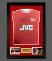 Tony Adams Arsenal Fc Signed Football Shirt In A Frame