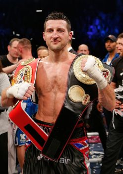 Carl Froch 10x8 Signed Photograph: B : Private Signing Autograph  Pre Order.