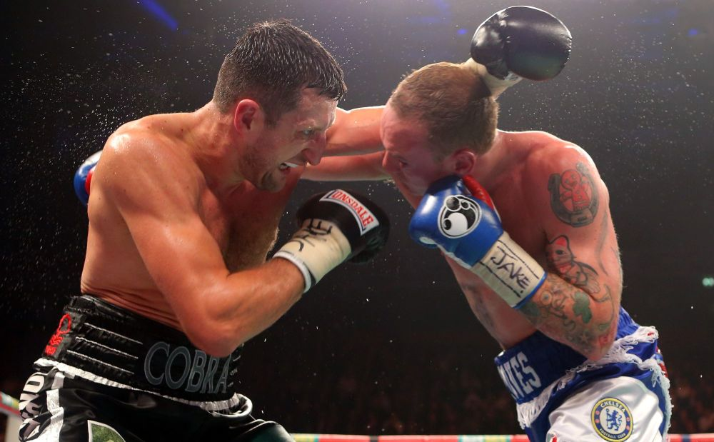 Carl Froch And George Groves Duel Signed 10x8 Photograph :  Sportsmania Aut