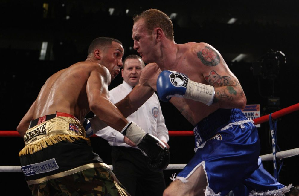 George Groves Signed 10x8 Photograph : A :  Sportsmania Autograph  Pre orde