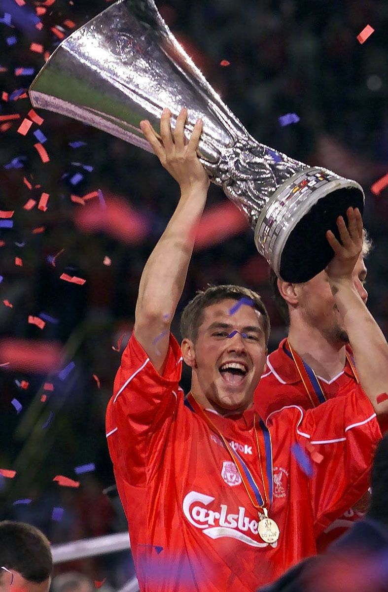 Michael Owen Liverpool Fc Football 10x8 Signed  Photograph:  Sportsmania Au